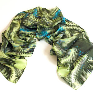 Enigma Silk Scarf featured product