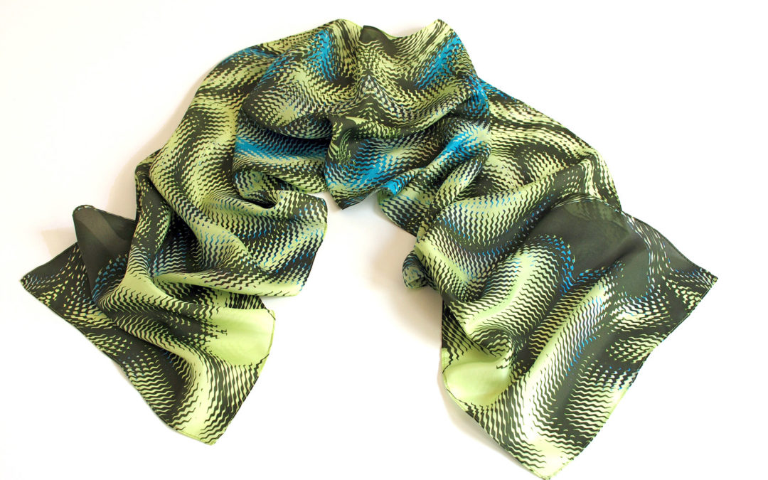 Category - Product -Wearable Art - Scarf - Enigma