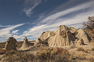 Lybrook HooDoos color photo