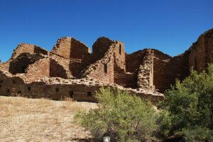 New Mexico: Chaco Canyon photograph Pueblo del Arroyo