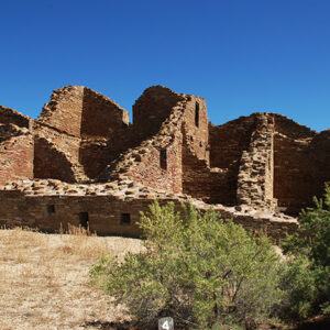 New Mexico: Chaco Canyon photograph Pueblo del Arroyo