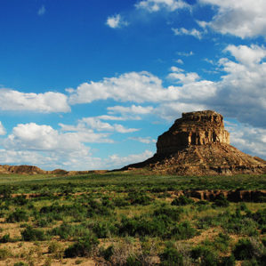 New Mexico: Chaco Canyon Fajada Butte photograph 0077