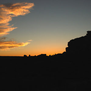 New Mexico: Chaco Canyon photograph Sunseton