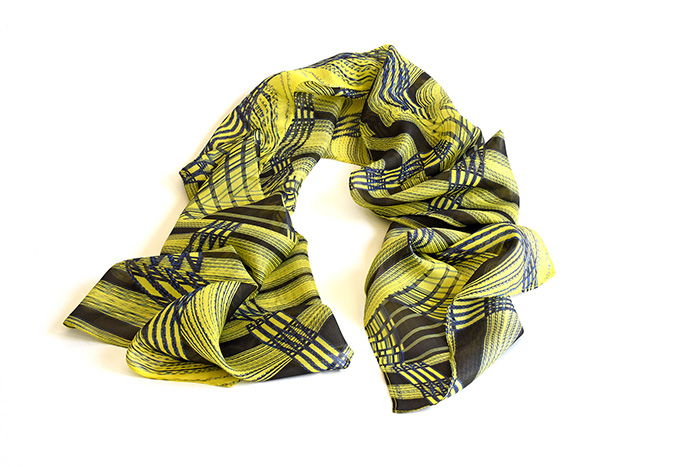 Wearable Art - Silk Scarf